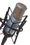 mic-white Royaltyfri Bild