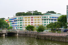 MICA building is colonial landmark in Singapore Royalty Free Stock Images