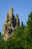 Mica rock. Formation near Mount Rushmore south Dakota royalty free stock photography
