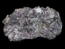 Mica rosa del lepidolite - minerale del minerale metallifero del litio immagine stock libera da diritti