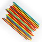 Micado Mikado game play random luck color colorful Stock Photo