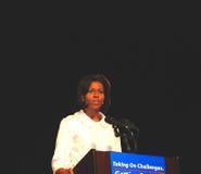 Micaela Obama Imágenes de archivo libres de regalías