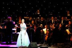 Micaela Oesta performs at Bahrain Nov 29, 2012 Stock Photography