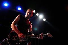 Micah p Диапазон Hinson выполняет показатель Trompe Le Monde Pixies на Apolo Стоковые Фото