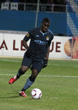 Micah Richards of Manchester City Stock Images