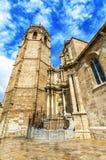 Micalet - καθεδρικός ναός της Βαλένθια στη βασίλισσα Square, Βαλένθια SPA Στοκ Εικόνες