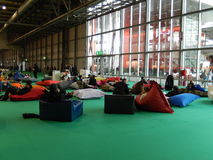Micam Fair in  Milan Stock Photography