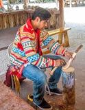 Miccosukee印地安人 免版税库存图片