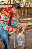 Miccosukee印地安人 免版税图库摄影