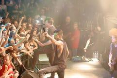 Of mice & men concert Lucerna Musicbar Praha Stock Photos