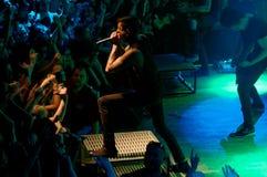 Of mice & men concert Lucerna Musicbar Praha Royalty Free Stock Photo
