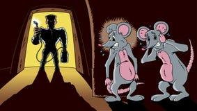 The pest exterminator Stock Images