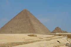 Micerino pyramid. At Giseh (Giza), Cairo, Egypt Stock Photos