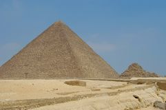 micerinopyramid arkivfoton