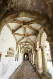 Micha Cloister Ambulatory av kloster av Kristus arkivfoton
