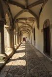 Micha Cloister Ambulatory av kloster av Kristus royaltyfri bild