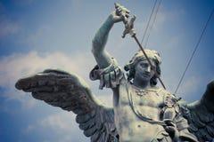 michael Άγιος άγαλμα Στοκ Φωτογραφία