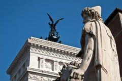 michael Ρώμη Άγιος άγαλμα Στοκ φωτογραφία με δικαίωμα ελεύθερης χρήσης