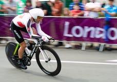 Michael Albasini dans les Jeux Olympiques Photos libres de droits