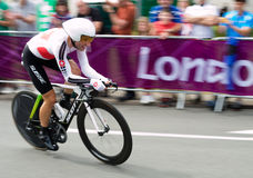 Michael Albasini in the Olympics Royalty Free Stock Photos