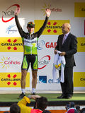 Michael Albasini wins the Volta a Catalunya Royalty Free Stock Images