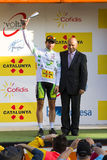 Michael Albasini wins the Volta a Catalunya Stock Image