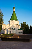 Michael the Archangel Cathedral in Nizhniy Novgorod , Russia Royalty Free Stock Images