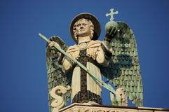Michael The Archangel, Lucca, Italy Stock Photos