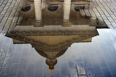 Michael Archangels church in Kolomna, Russia. Water reflection Stock Image