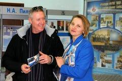 Michael Baker in Baikonur Stock Fotografie