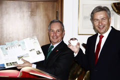 Michael Bloomberg, Klaus Wowereit Royalty Free Stock Images