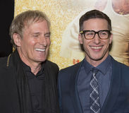Michael Bolton et Andy Samberg Photographie stock
