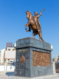 Michael the Brave statue, Bucharest, Romania Royalty Free Stock Photos