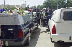 Michael Brown Funeral Arkivfoton