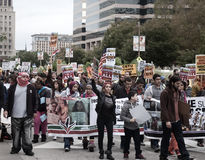 Michael Brown Marchers Photos stock
