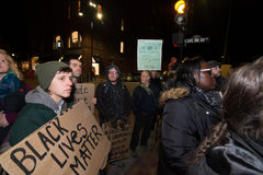 Michael Brown Protest Royalty Free Stock Photos