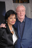 Michael Caine,Shakira royalty free stock images