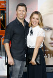Michael Cameron and Beverley Mitchell Stock Photography