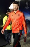 Michael Carrick  Manchester Unied Royalty Free Stock Images