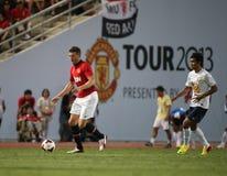 Michael Carrick van de Mens Utd. Stock Foto's