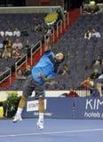 Michael Chang - de legenden van het Tennis op het hof 2011 Royalty-vrije Stock Afbeelding