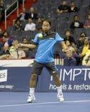 Michael Chang - leyendas del tenis en la corte 2011 Imagen de archivo libre de regalías