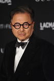 Michael Chow. LOS ANGELES, CA - NOVEMBER 1, 2014: Restauranteur Michael Chow at the 2014 LACMA Art Film Gala at the Los Angeles County Museum of Art Stock Image