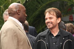 Michael Clarke Duncan and Billy Bob Thornton Royalty Free Stock Photos