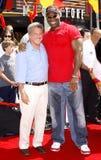 Michael Clarke Duncan e Dustin Hoffman Foto de Stock