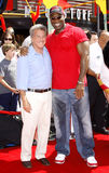 Michael Clarke Duncan i Dustin Hoffman Zdjęcie Stock