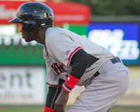 Michael De Leon, Hickory Crawdads Royalty Free Stock Images