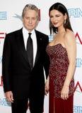 Michael Douglas and Catherine Zeta-Jones Stock Image