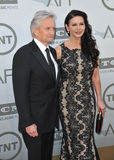 Michael Douglas et Catherine Zeta-Jones Photographie stock