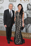 Michael Douglas et Catherine Zeta-Jones Image stock